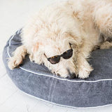 Canvas Pet Bed Grey Lge