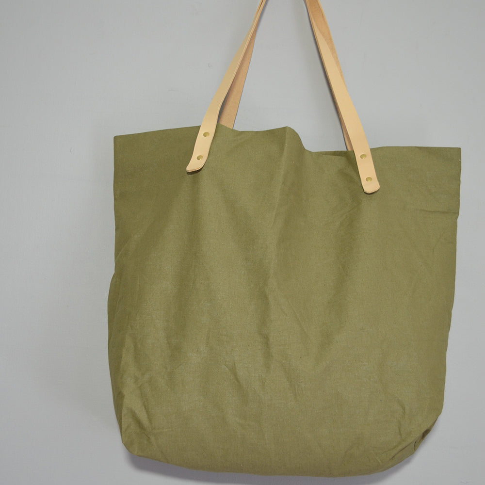 Market Bag in Olive