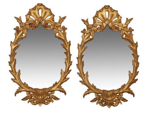 Pair of Rococo Mirrors