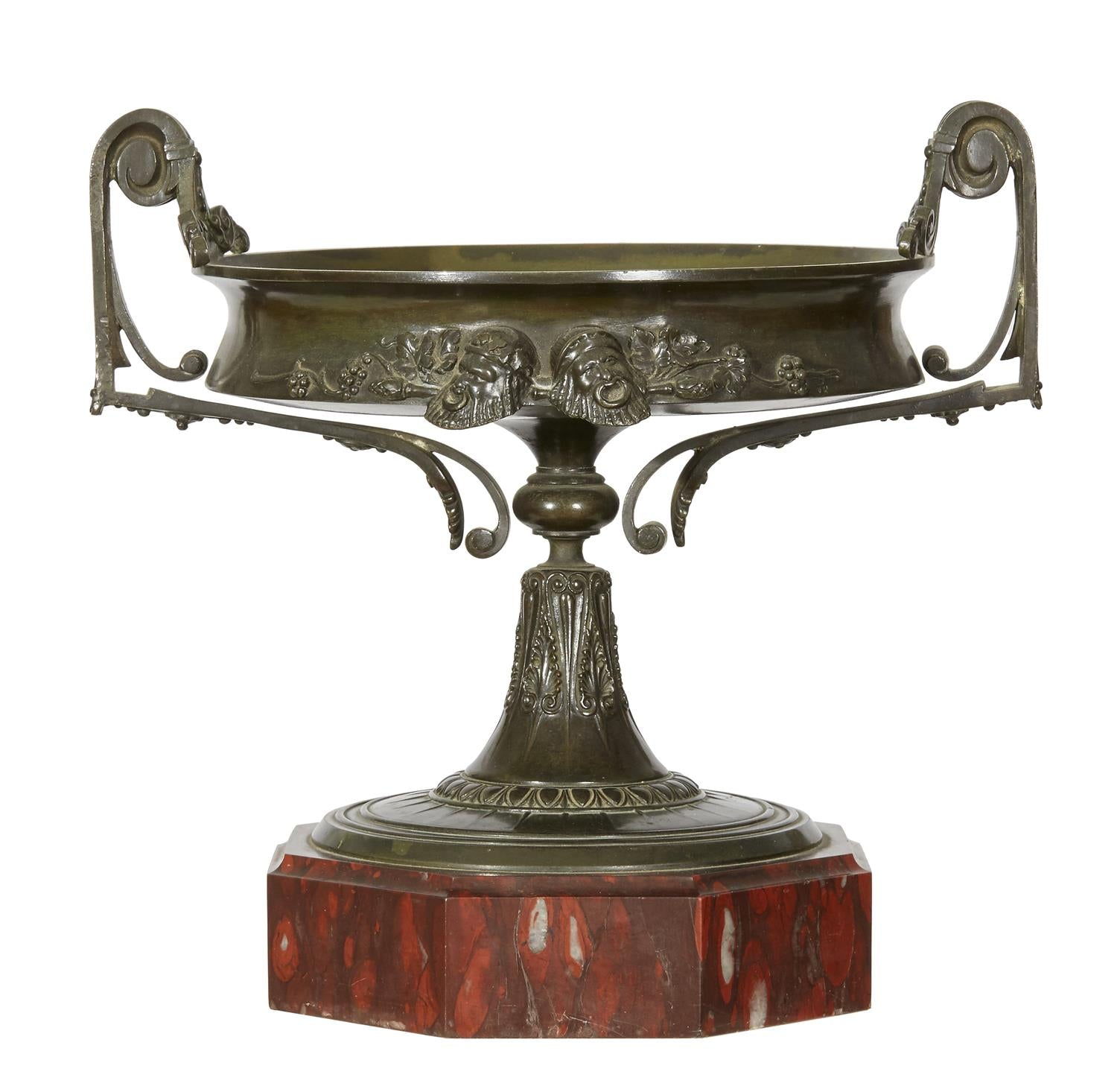 Two Handled Bronze Tazza
