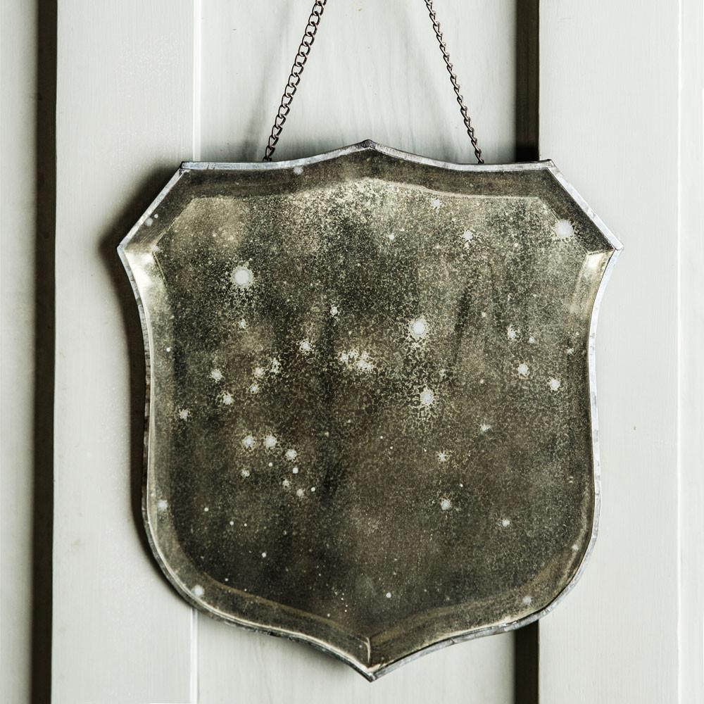 Shield Mirror Antique