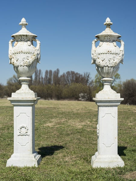 French Neoclassical Urns