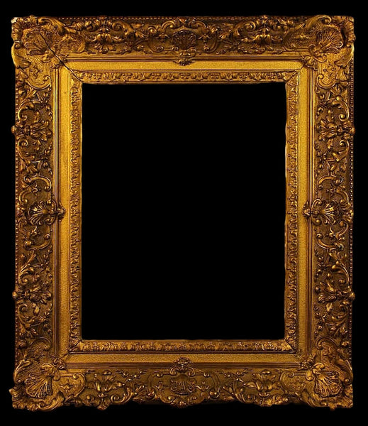 English Antique Gilt Picture Frame