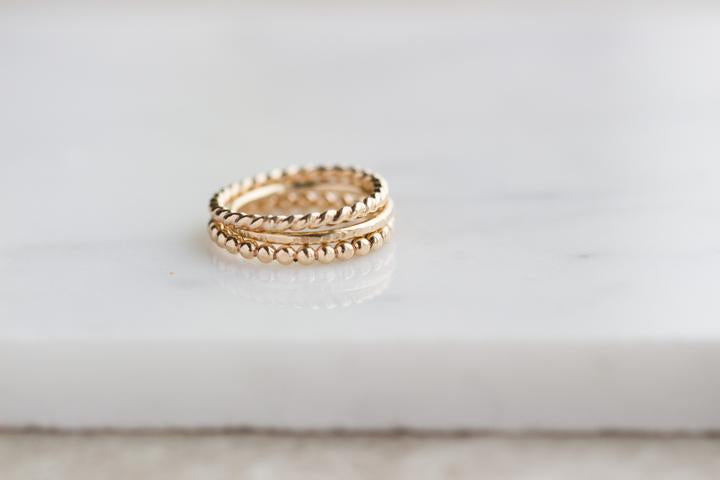 Twist Ring - 14k Gold