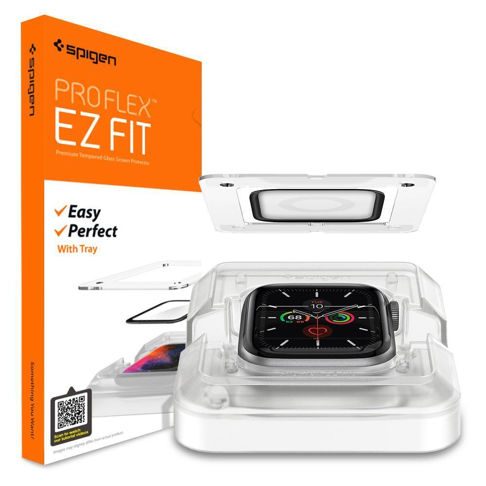 Spigen Screen Protector ProFlex EZ Fit Apple Watch Series 6 / 5 / 4 / SE 44mm (2 pack)