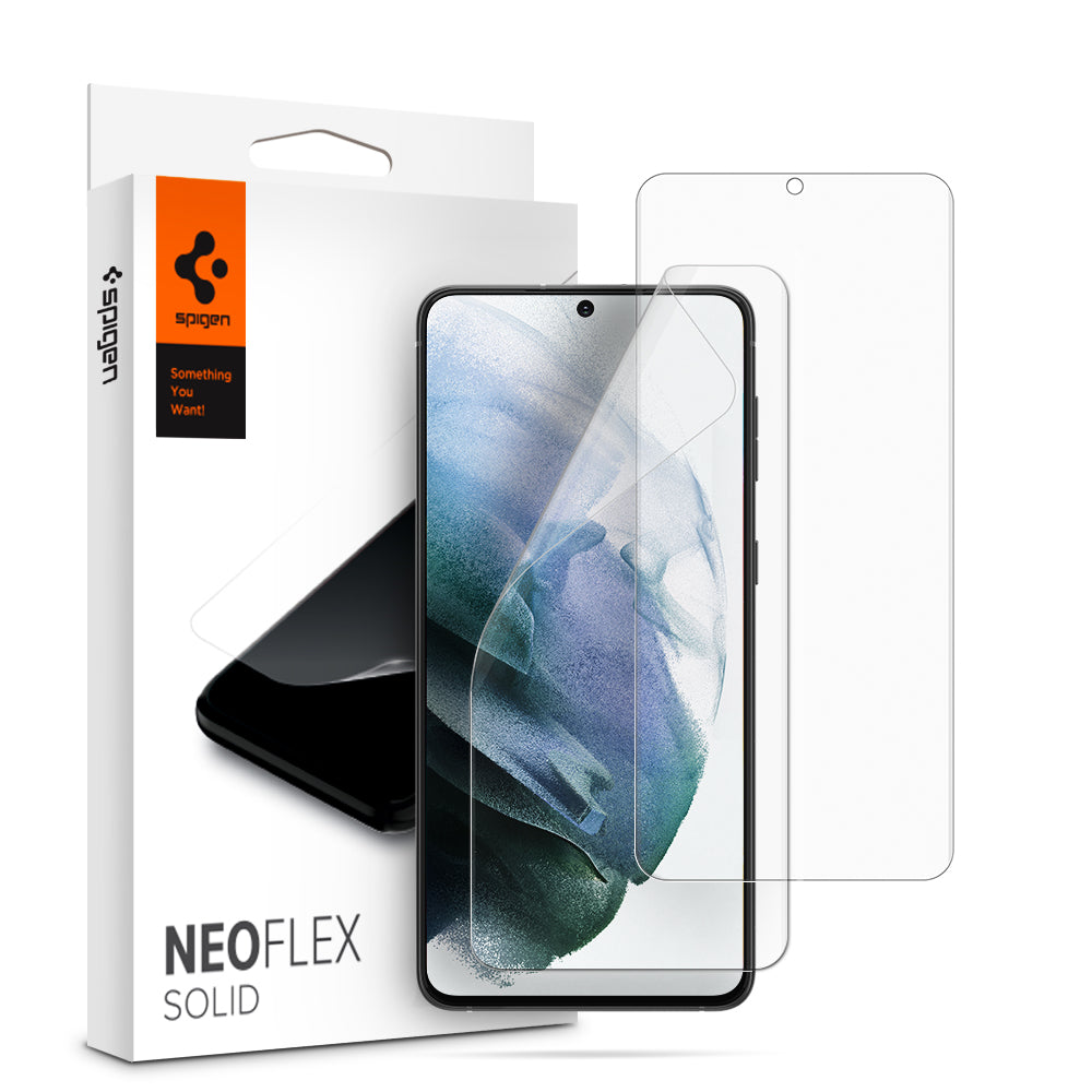 Spigen Neo Flex HD Screen Protector for Galaxy S21 Plus (2 pack)