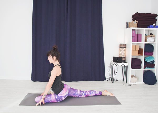 Pigeon (or Thread the Needle) (Eka Pada Rajakapotasana)