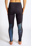 Pocket Legging - Black / Galaxy