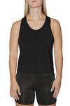 Women's Basic Muscle Tank Crop Top