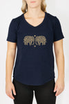 Women's T-Shirt - Elephant Love