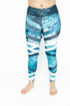 Low Rise Legging - Ocean
