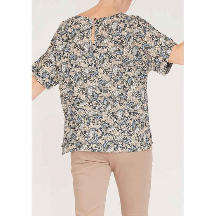 Annica s/s Blouse / D51 Spring Mood