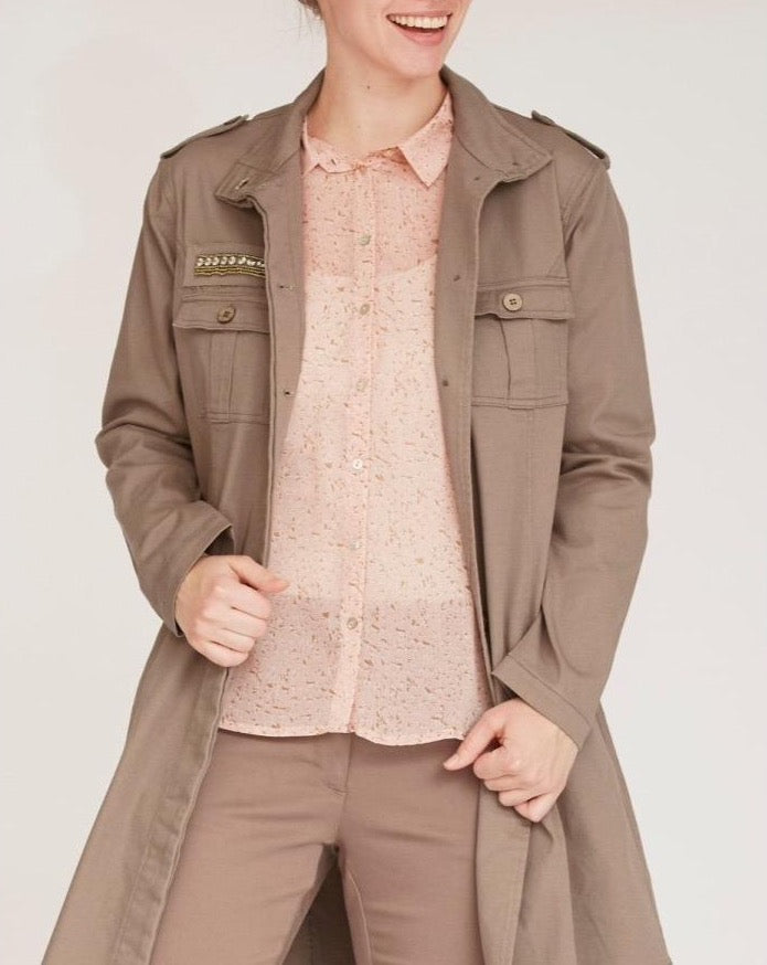 Karuna Long Jacket / 321 Luxury Camel