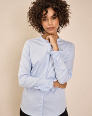 Mattie Sustainable Shirt / 406 Light Blue