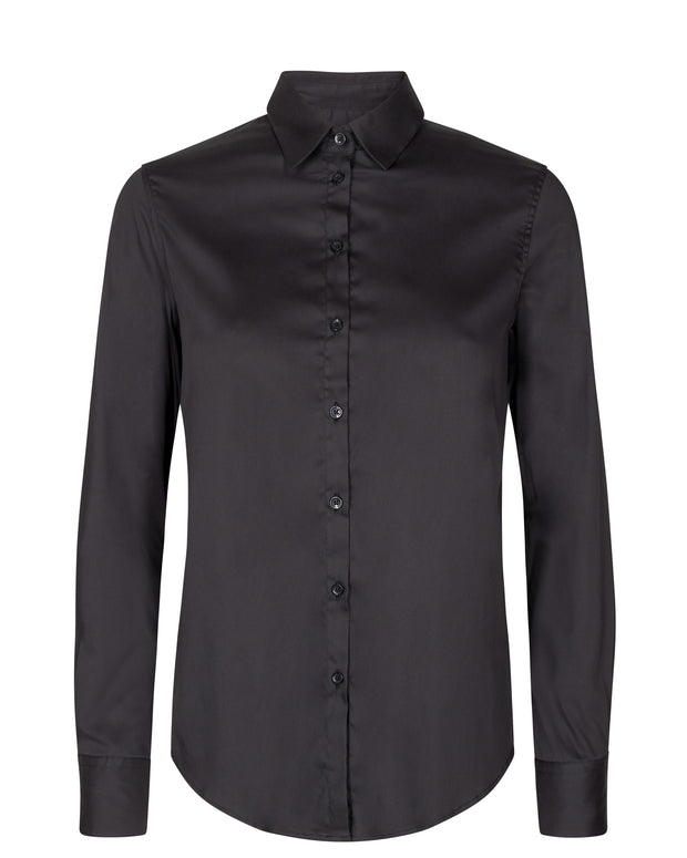 Martina Sustainable Shirt / 801 Black