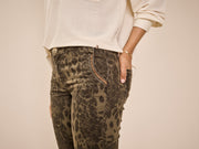 Etta Animal Pant / 510 Army
