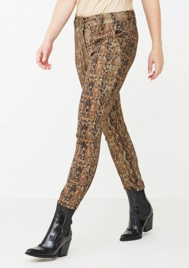 Chino Printed Pant / I76 Browny Dream