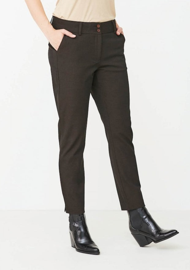 Isay Stretch Chino / 145 Copper Melange