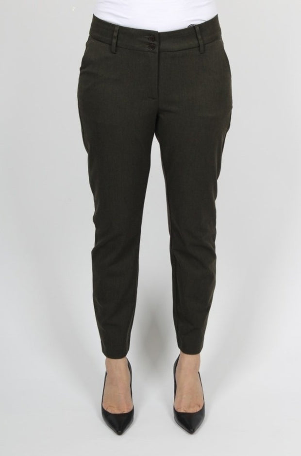 Isay Stretch Chino / 817 Dark Army Melange