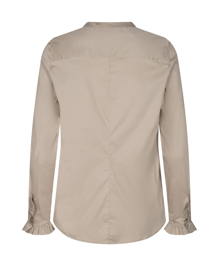 Mattie Sustainable Shirt / 661 Light Taupe