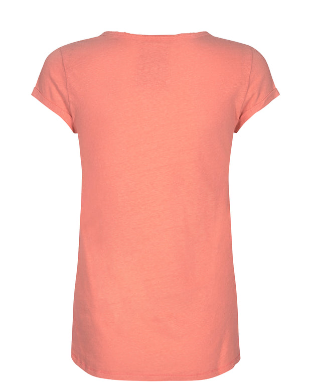 Troy Tee SS / 380 Fusion coral