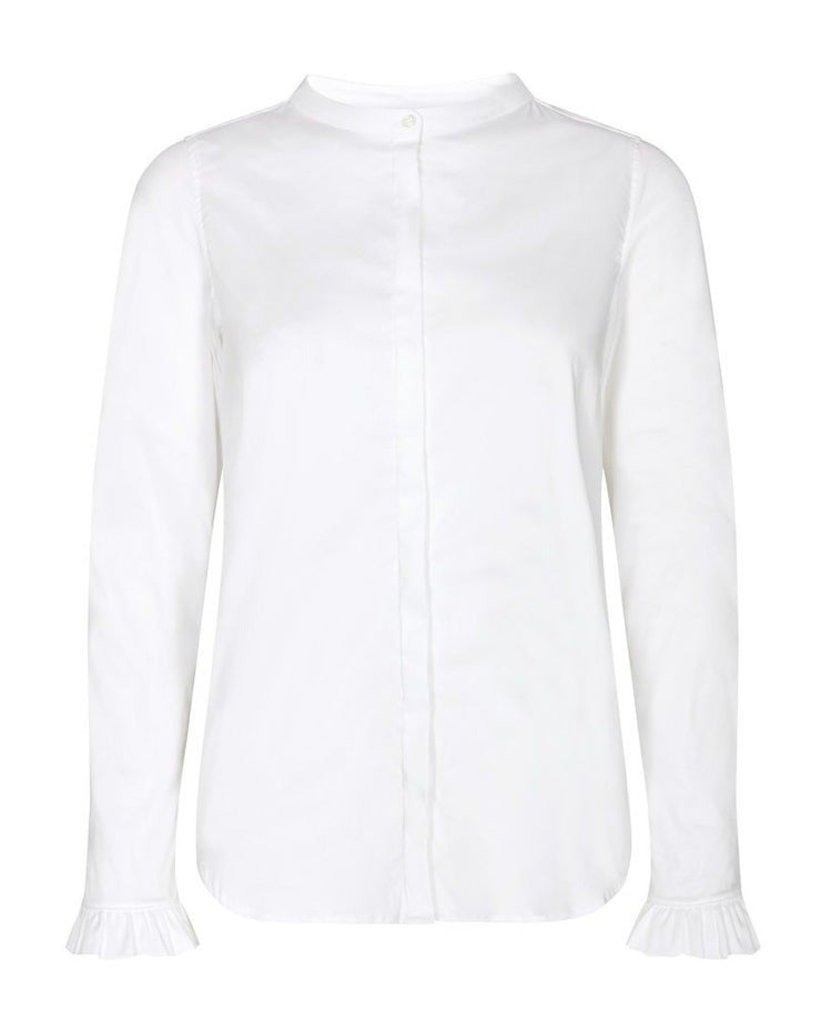 Mattie Shirt / 101 White