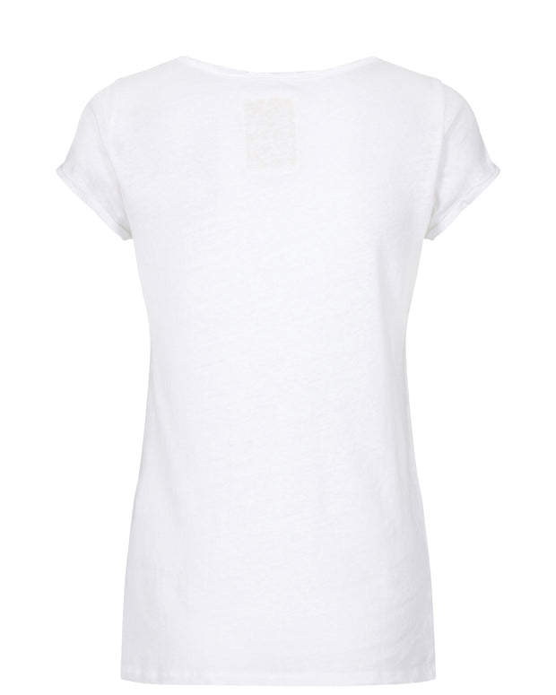 Troy Tee SS / White