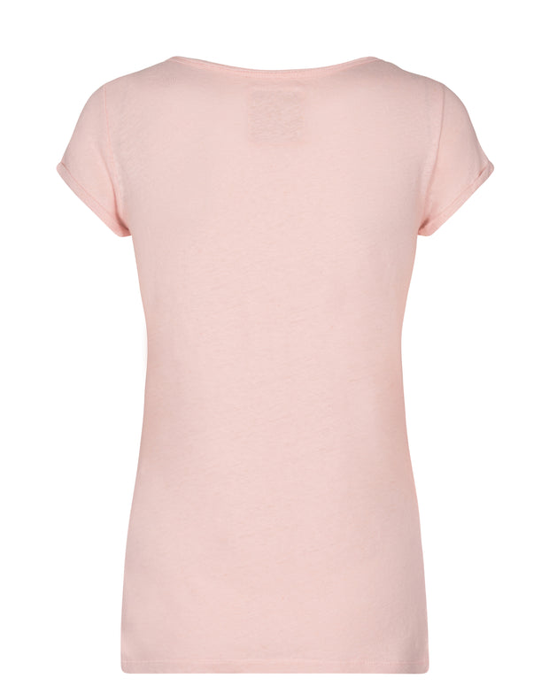Troy Tee SS / Chintz Rose