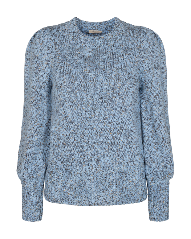 COTTI Pullover / Chambray Blue mix
