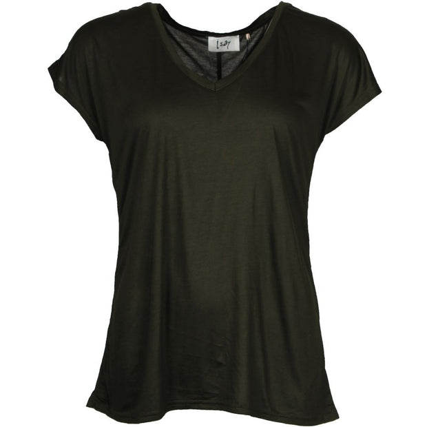 Nugga V-Neck T-Shirt / 828 Army green