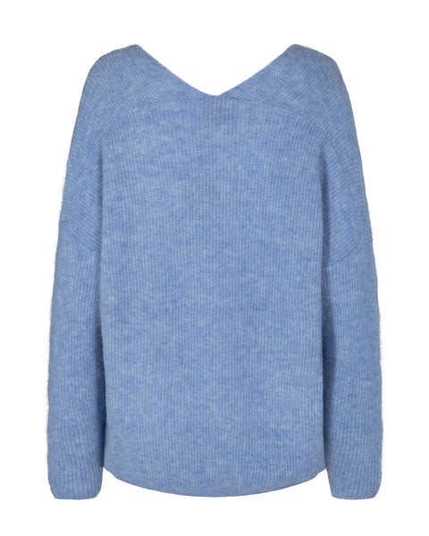 Thora V-neck Pullover / Bel Air Blue