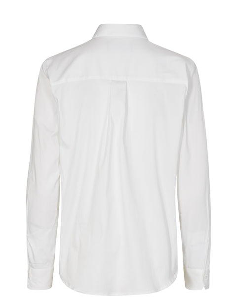 Martina Sustainable Shirt / 101 White