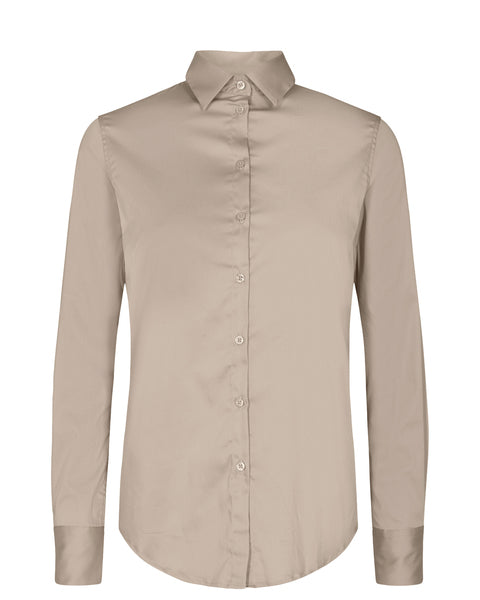 Martina Sustainable Shirt / 661 Light Taupe