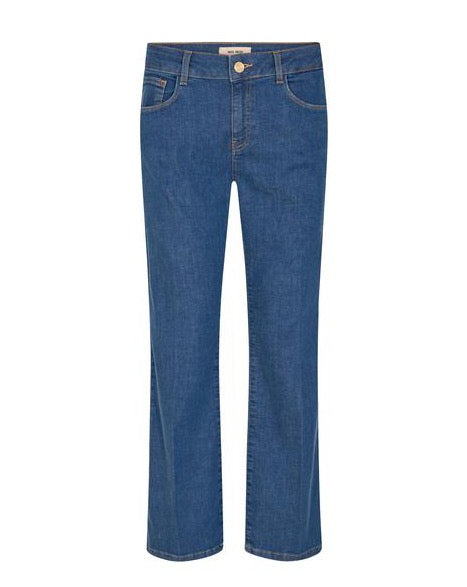 Cecilia Cover Ankle Jeans / 401 Blue