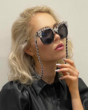 Laden Sie das Bild in den Galerie-Viewer, Capri Eyewear Jet Black - Crystal JetMask