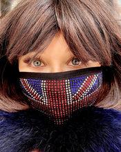 Laden Sie das Bild in den Galerie-Viewer, Union Face Mask Covering - Crystal JetMask