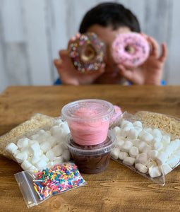Kids DIY Cereal Treat Kits
