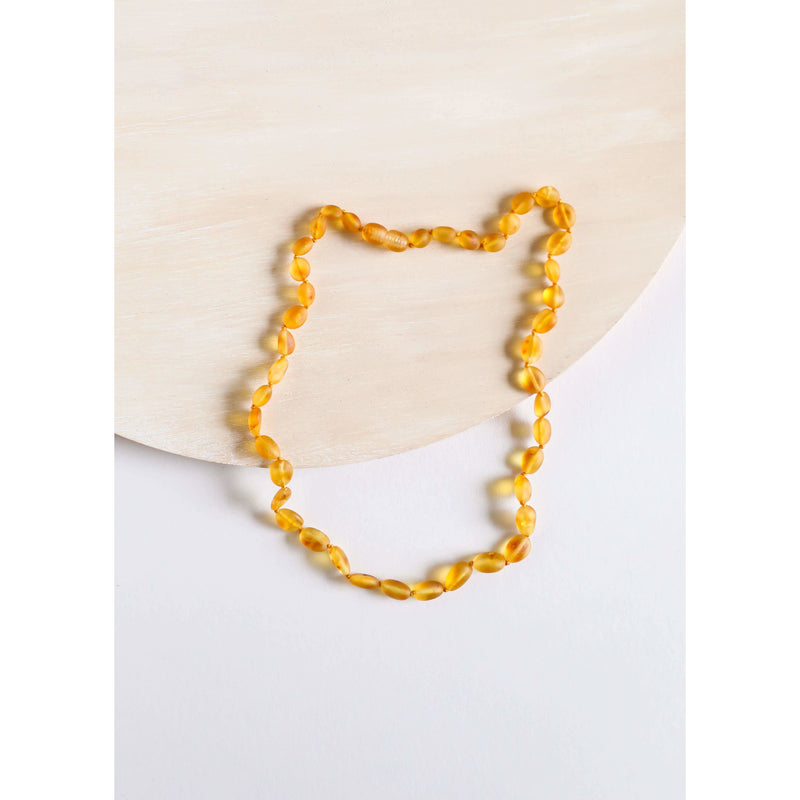 Raw Honey : Classic Amber Necklace