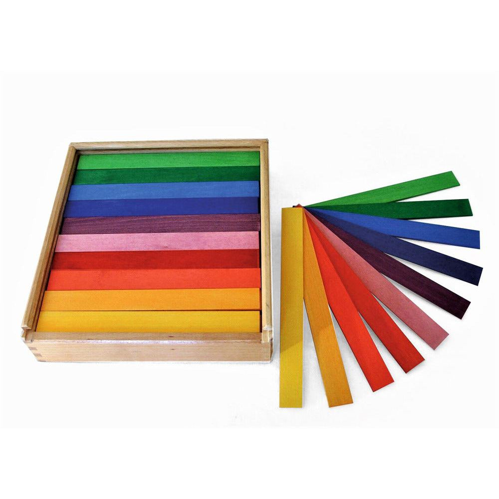 Bauspiel Colored Rods Happy Monkey Baby & Kids