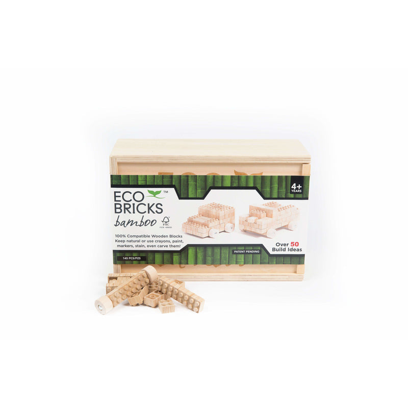 Eco-bricks 145 Piece Bamboo