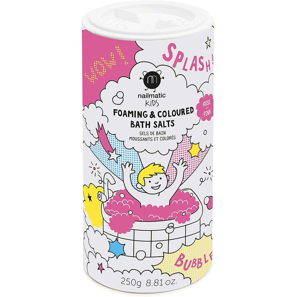 Nailmatic Kids Bath Salts Foaming - Pink Happy Monkey Baby & Kids