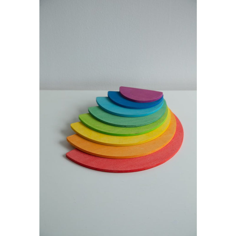 Rainbow Semicircles - Medium