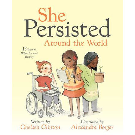 She Persisted Around the World Happy Monkey Baby & Kids