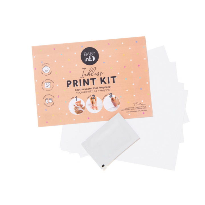 Baby Ink Blue Ink-less Print Kit Happy Monkey Baby & Kids