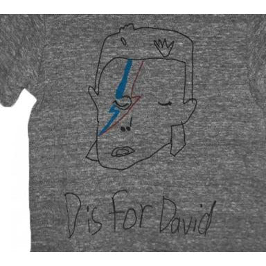 D is for David Tee Grey