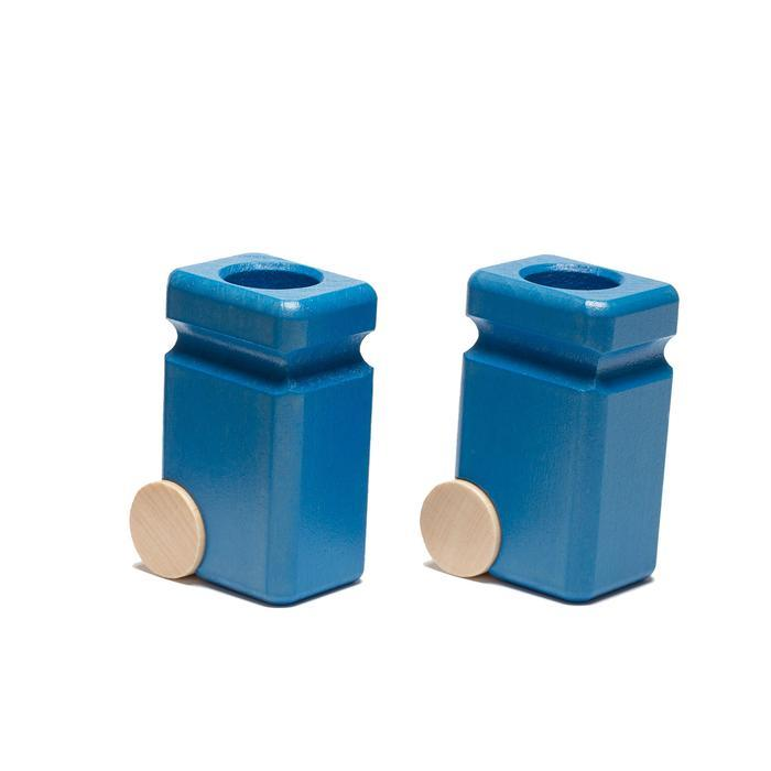 Recycling Cans (blue) 2pcs