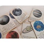 Australian Made and Owned Outer Space Cards Happy Monkey Baby & Kids