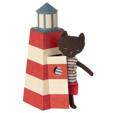 PREORDER Sauveteur Tower with Cat