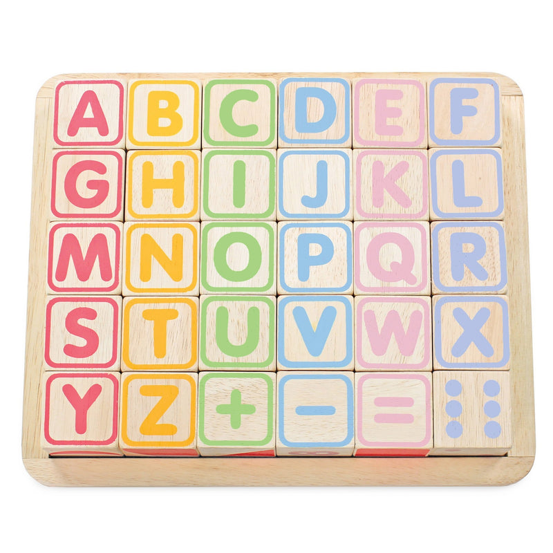 ABC Wooden Blocks