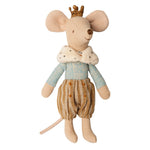 Maileg Prince mouse, Big Brother Happy Monkey Baby & Kids
